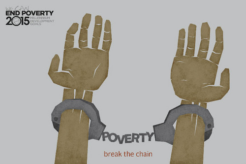 End the poverty!