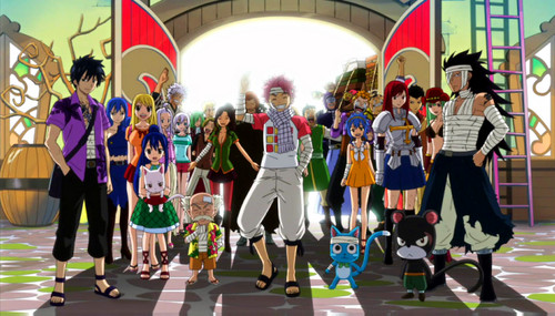 Fairy Tail Обои titled FAIRY TAIL