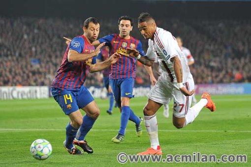 Fc Barcelona Vs Ac Milan 3 1 Uefa Champions League 2011 2012 Ac Milan Image 30295975 Fanpop