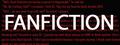 Fan Fiction District Logo - the-writing-games screencap