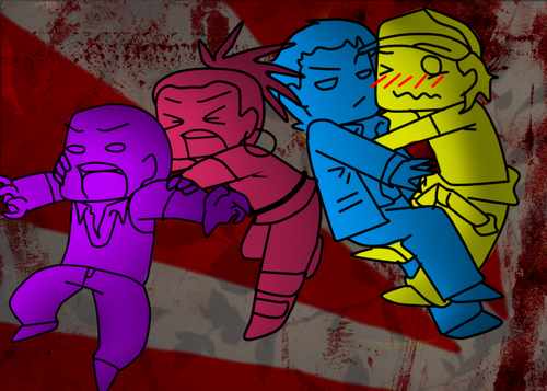 Left 4 Dead 2 fond d'écran probably with animé called FanArts par Me