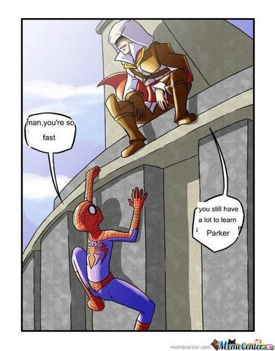 Faster Than Spiderman