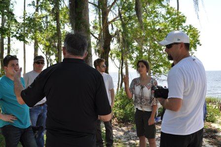 Fontainebleau State Park and crew