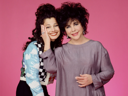 The Nanny wallpaper possibly with a nightwear titled Fran