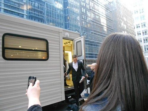 Gossip Girl Set - March 30, 2012