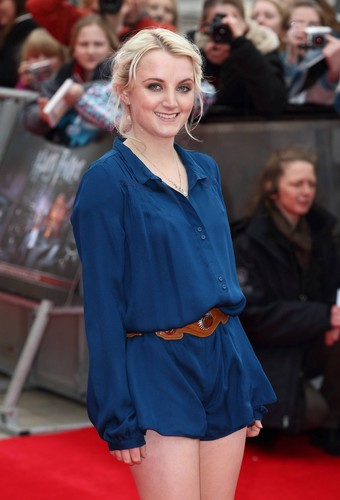 Grand Opening of the HP Leavesden Studio Tour - March 31, 2012 - evanna-lynch Photo