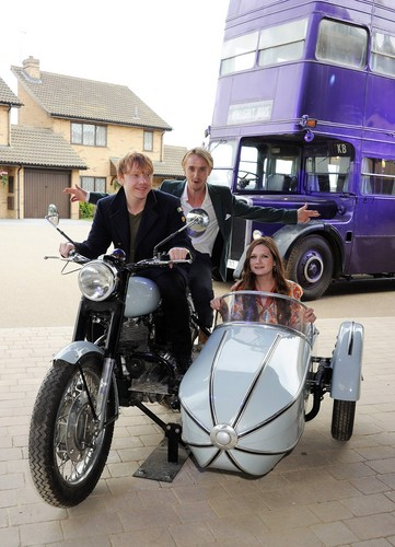 Tom Felton wallpaper called HP Leavesden Tour Photocall - March 31, 2012