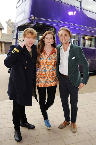 HP Leavesden Tour Photocall - March 31, 2012 - tom-felton Photo