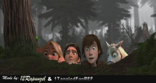 Hiccup and the Raiponce Crew