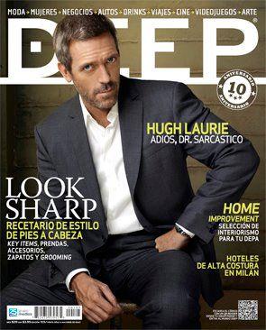 Hugh Laurie-Magazine Deep-(Mexico)Abril de 2012.