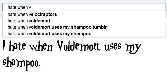 i hate it when voldemort