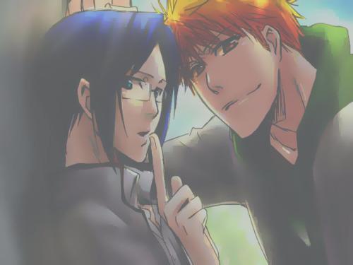 Ichigo & Uryu <3