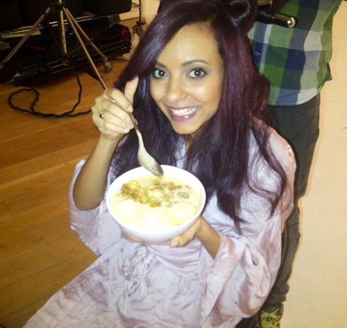 Little Mix wallpaper containing a lunch and a meal titled Jade! <3