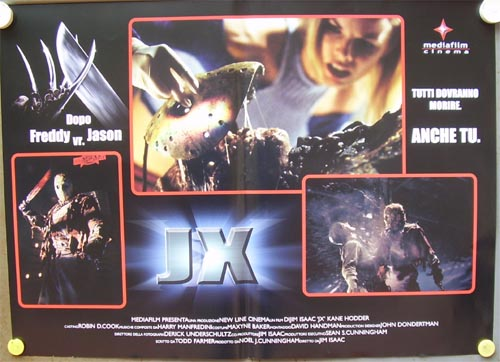 Jason X Italian Poster