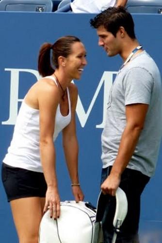 Jelena Jankovic and man