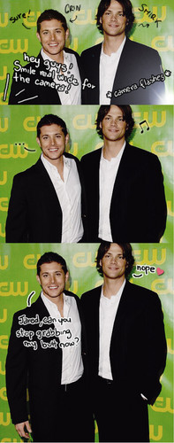 Jensen & Jared - supernatural Photo