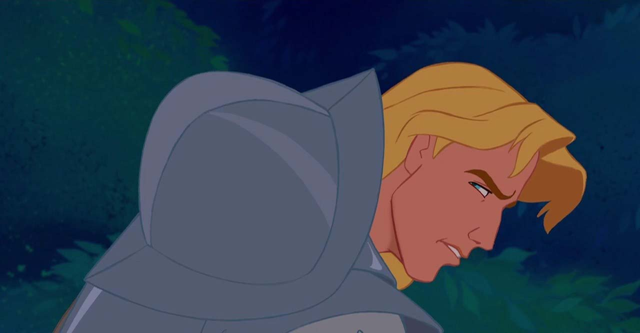 John Smith without helm from Side