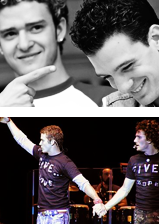 Justin Timberlake and JC Chasez wallpaper called Justin Timberlake and JC Chasez