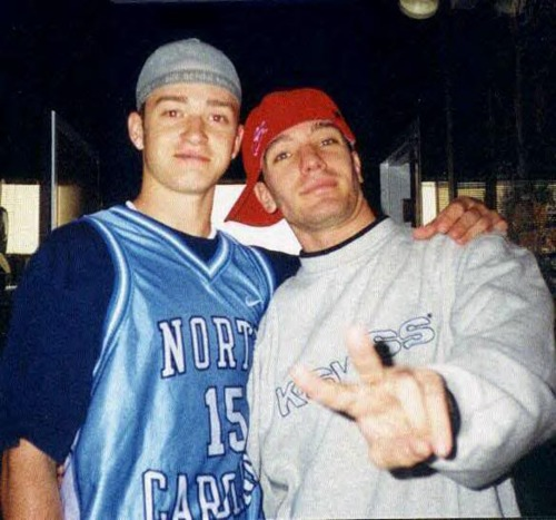 Justin Timberlake and JC Chasez wallpaper titled Justin Timberlake and JC Chasez