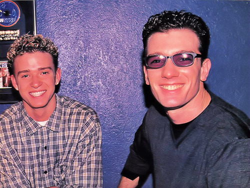 Justin Timberlake and JC Chasez - justin-timberlake-and-jc-chasez Photo
