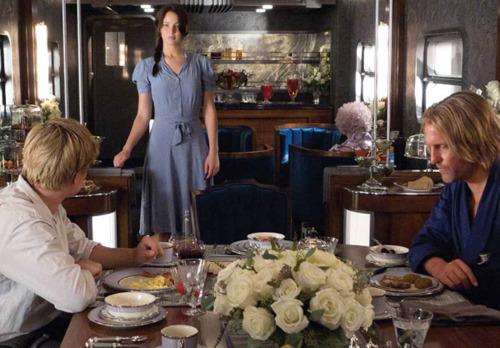 Katniss, Peeta and Haymitch