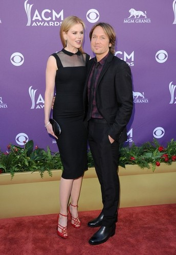 Keith and Nicole at The Academy of Country Music Awards 2012