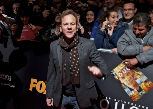 "Kiefer Sutherland presents "" Touch ""- Madrid, Spain (10/03/2012)"
