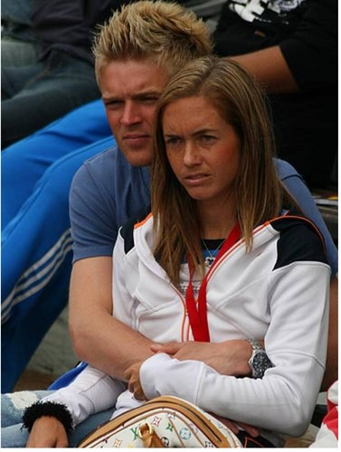 Klara Zakopalova and her husband..