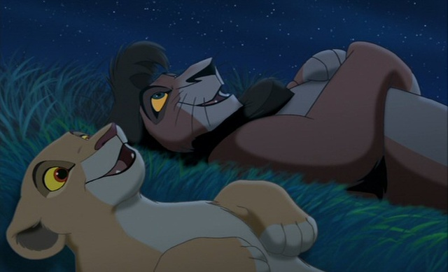 Kovu Kovu and KiaraLion King 2 Kiara And Kovu Love Song