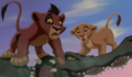 Kovu and Kiara - the-lion-king-cubs photo