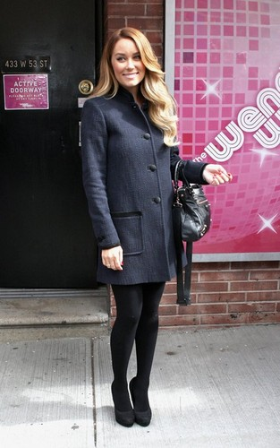 """Lauren Drops By the """"Wendy Williams Show"""""""