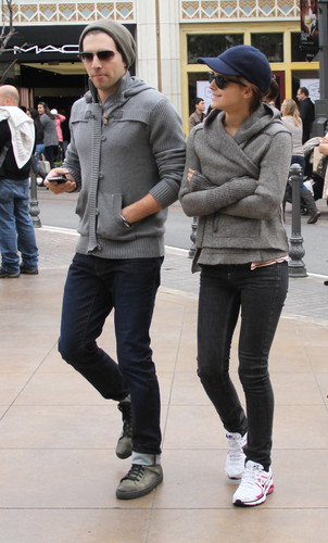 Leaving The Grove in Hollywood - 31 March, 2012
