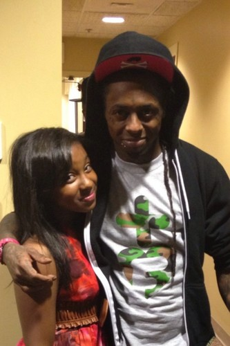 Lil' Wayne wallpaper containing a jersey entitled Lil Wayne&Reginae