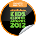 Limited Edition Sticker - kids-choice-awards-2012 photo