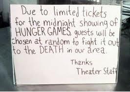 Little Hunger Games humor lol