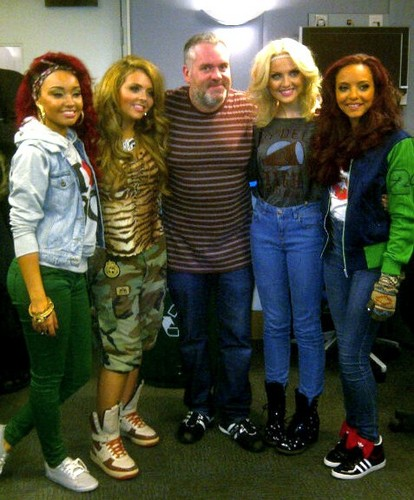 Little Mix with Chris Moyles! <3