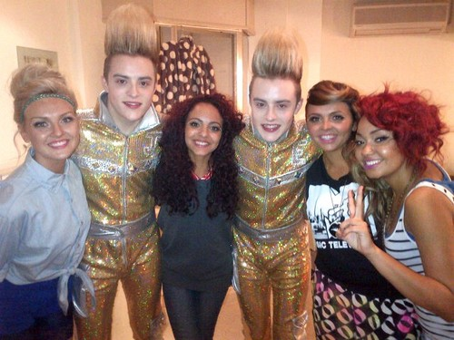 Little Mix with Jedward! <3