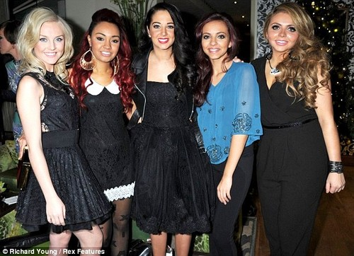 Little Mix wallpaper with a well dressed person entitled Little Mix with Tulisa! <3
