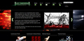 Lost Infernal Website Design - design screencap
