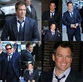 MW on Letterman - michael-weatherly fan art