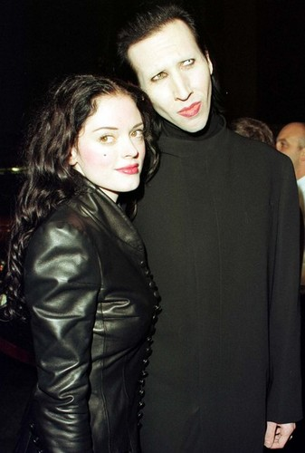 Marilyn Manson, Rose McGowan - rose-mcgowan Photo