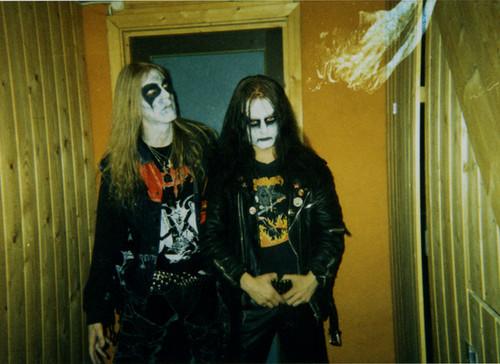 Mayhem Euronymous et Dead
