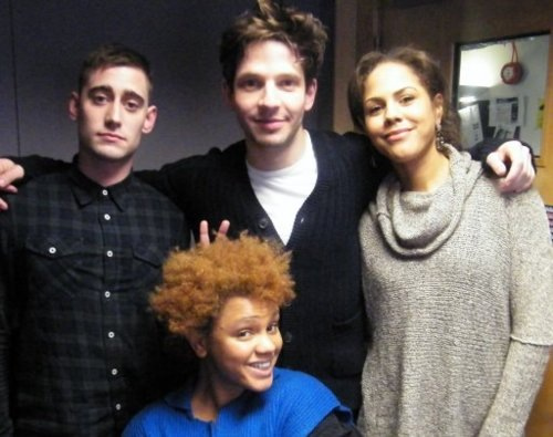 Michael, Damien and Lenora