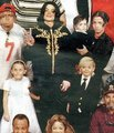 Michael and his kids ♥ (rare) - michael-jackson photo