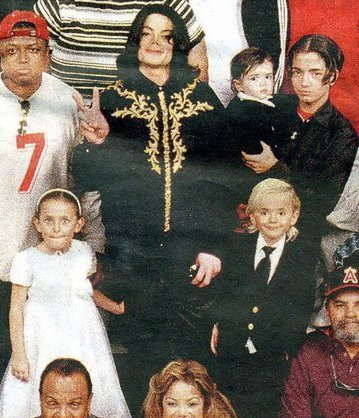 Michael and his kids ♥ (rare)