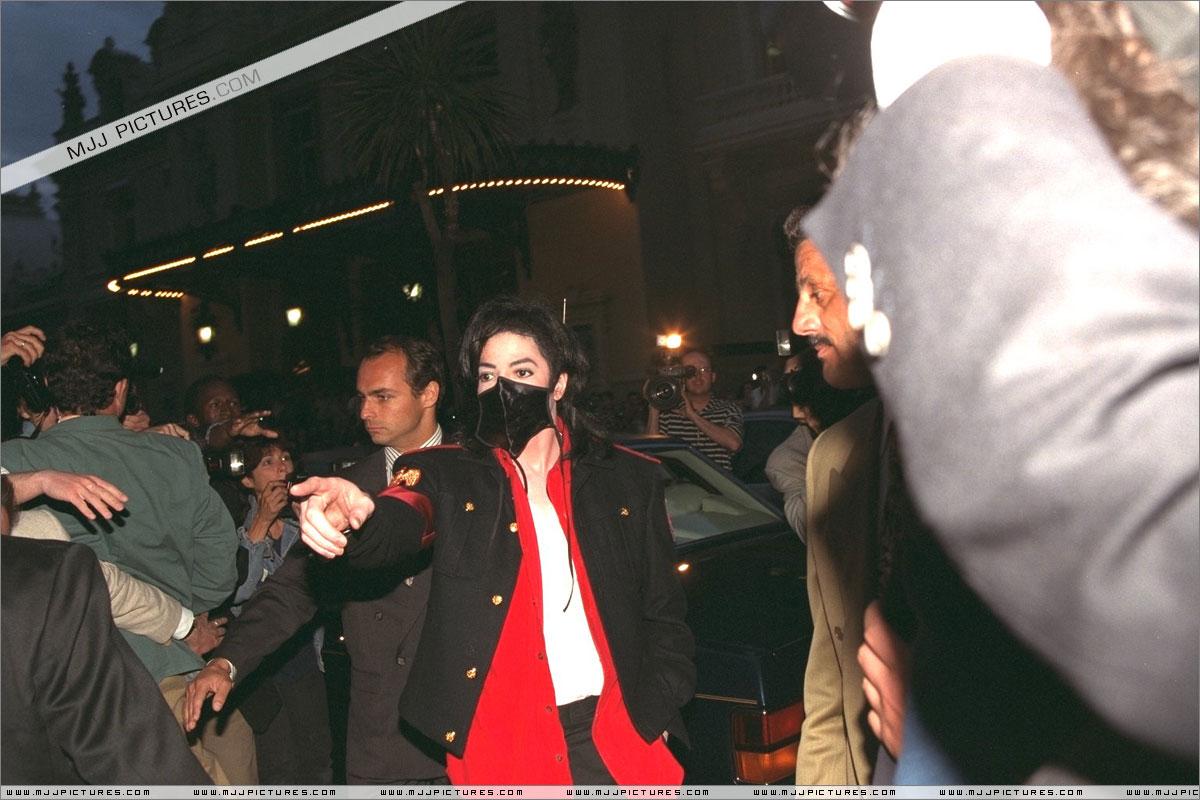 Michael visits Monaco