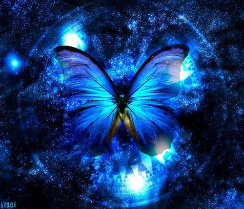 Fantasy wallpaper titled Mythical Butterfly