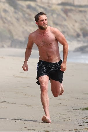 Robert Pattinson wallpaper with swimming trunks entitled New Pictures of Rob in Malibu – March 30th