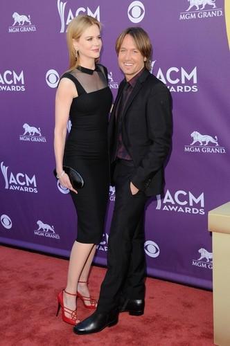 Nicole and Keith at Academy of Country Muzik Awards 2012