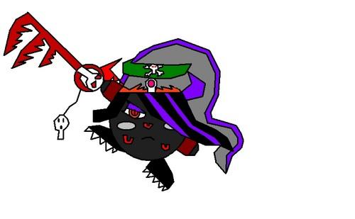 Ninjada, Serience, Skull, Starius, and Zanall